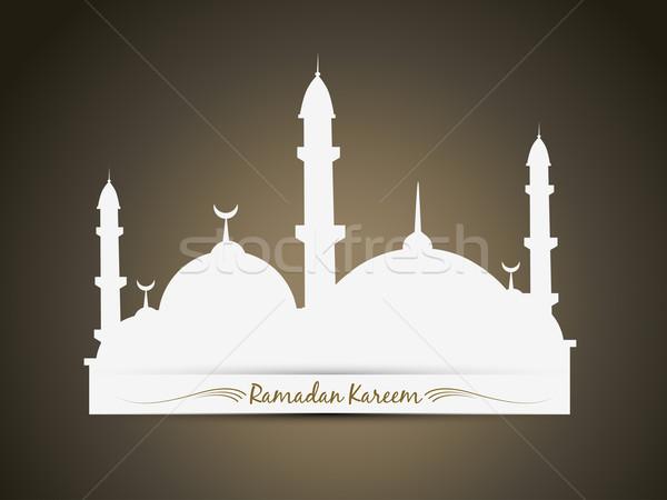 Ramadan vector achtergrond star bidden behang Stockfoto © Pinnacleanimates