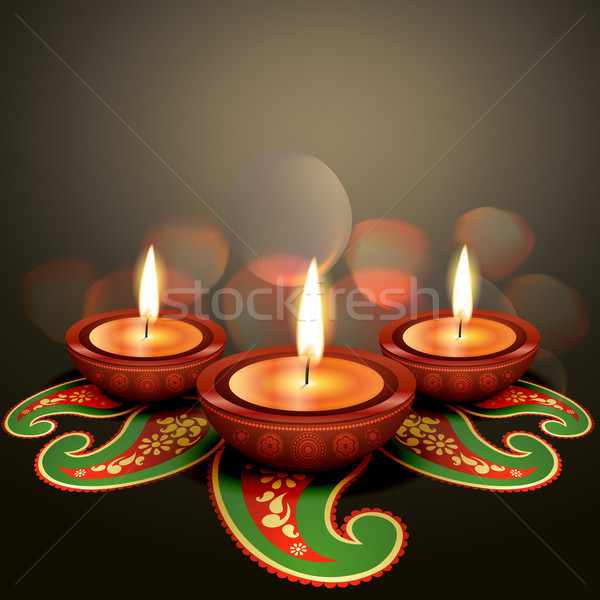 indian festival diwali Stock photo © Pinnacleanimates