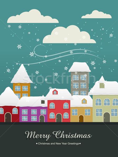 christmas vintage Stock photo © Pinnacleanimates