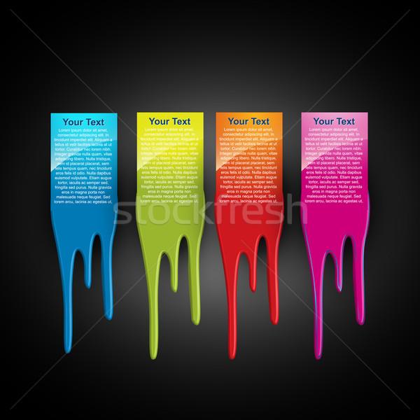 vector paint Stock photo © Pinnacleanimates