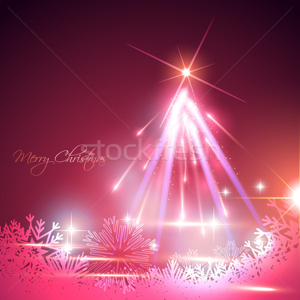christmas tree Stock photo © Pinnacleanimates