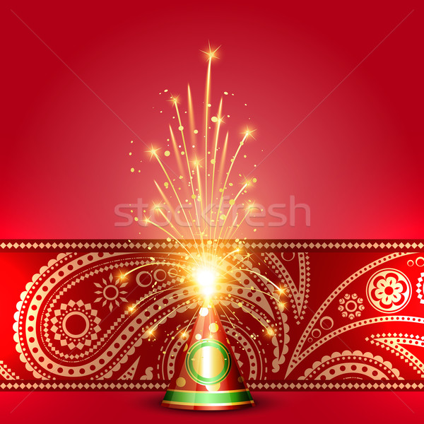 diwali crackers Stock photo © Pinnacleanimates