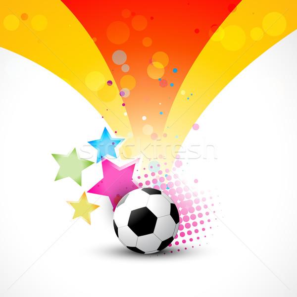 vector football Stock photo © Pinnacleanimates