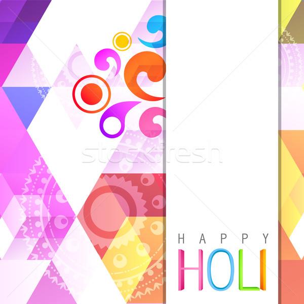 indian holi festival Stock photo © Pinnacleanimates