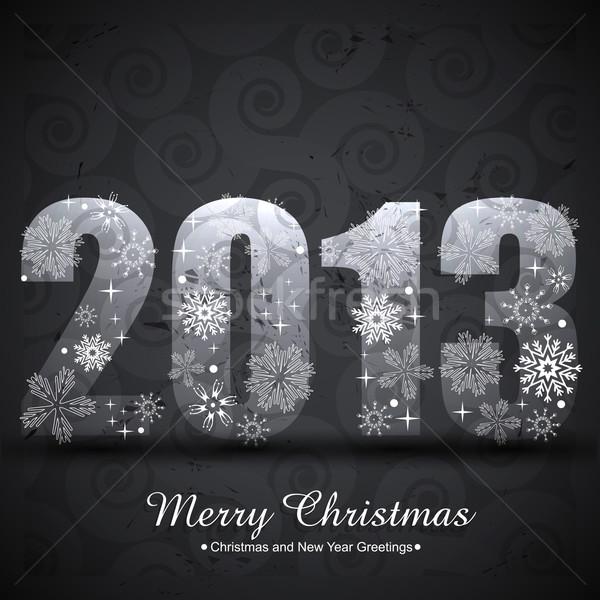 vector new year Stock photo © Pinnacleanimates