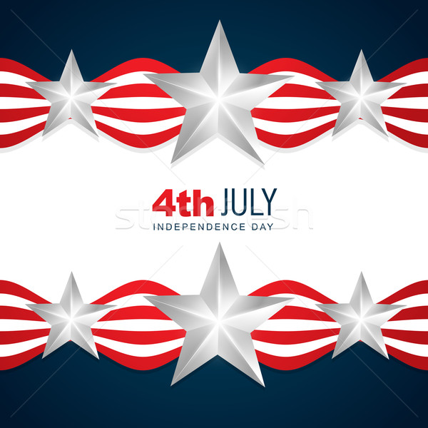 beautiful american independence day Stock photo © Pinnacleanimates