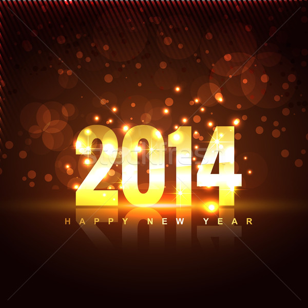 new year illustration Stock photo © Pinnacleanimates