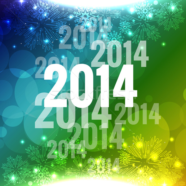 vector new year Stock photo © Pinnacleanimates