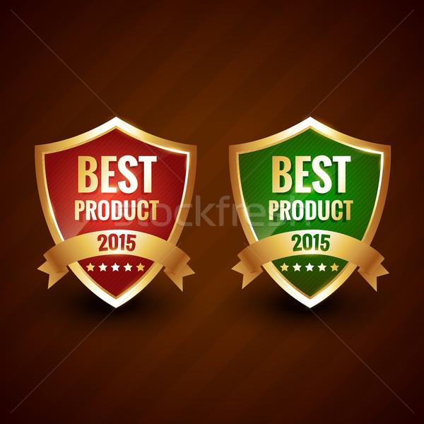 O melhor 2015 produto ano dourado etiqueta Foto stock © Pinnacleanimates