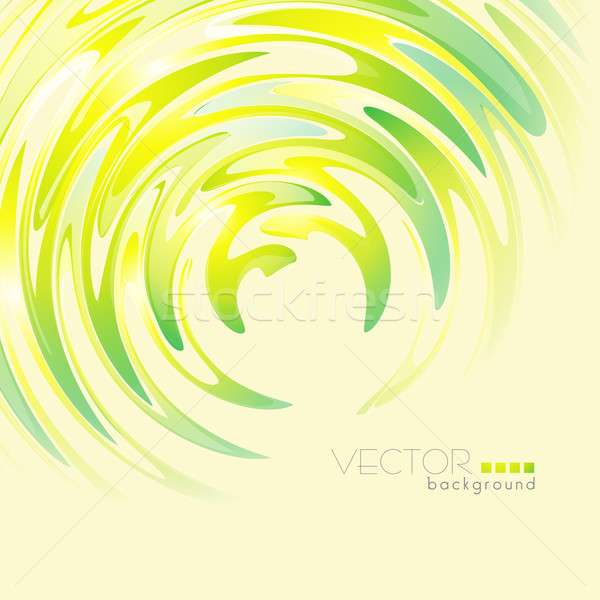 Golf vorm vector abstract vorm ontwerp Stockfoto © Pinnacleanimates