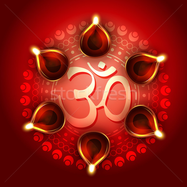 diwali background Stock photo © Pinnacleanimates
