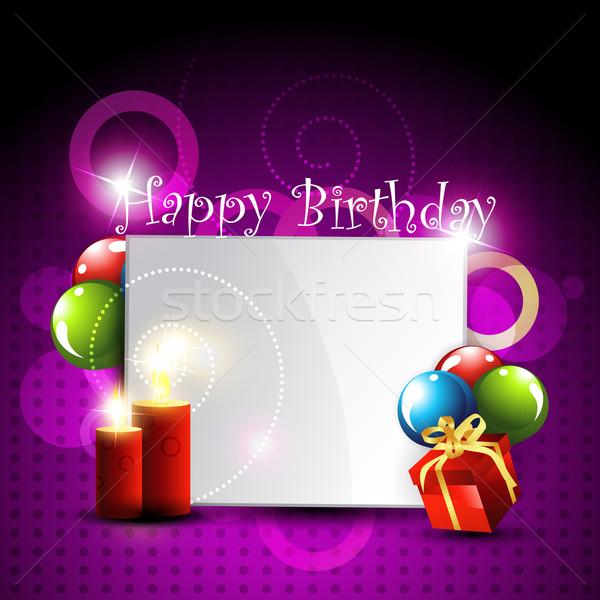С Днем Рождения дизайна искусства счастливым аннотация Сток-фото © Pinnacleanimates