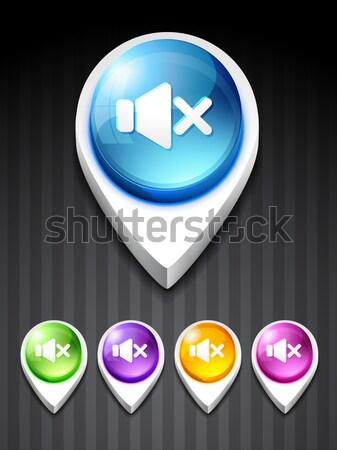 bluetooth icon Stock photo © Pinnacleanimates