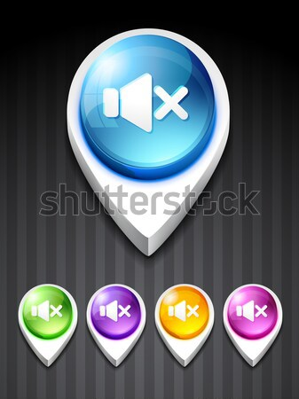 Bluetooth ícone vetor 3D estilo negócio Foto stock © Pinnacleanimates