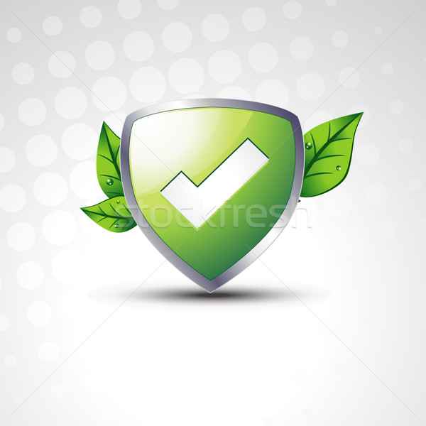 Tested vector Shield Stock photo © Pinnacleanimates