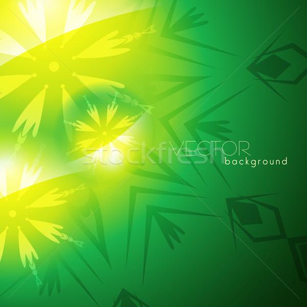 Zöld vektor izzó terv szín grafikus Stock fotó © Pinnacleanimates