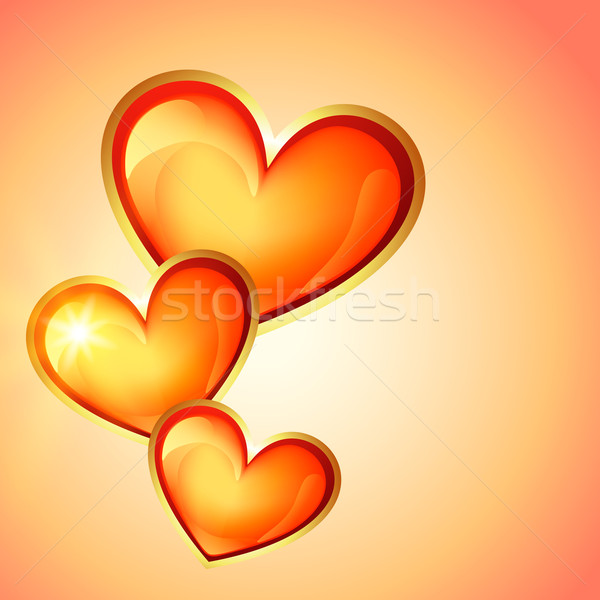 heart background Stock photo © Pinnacleanimates