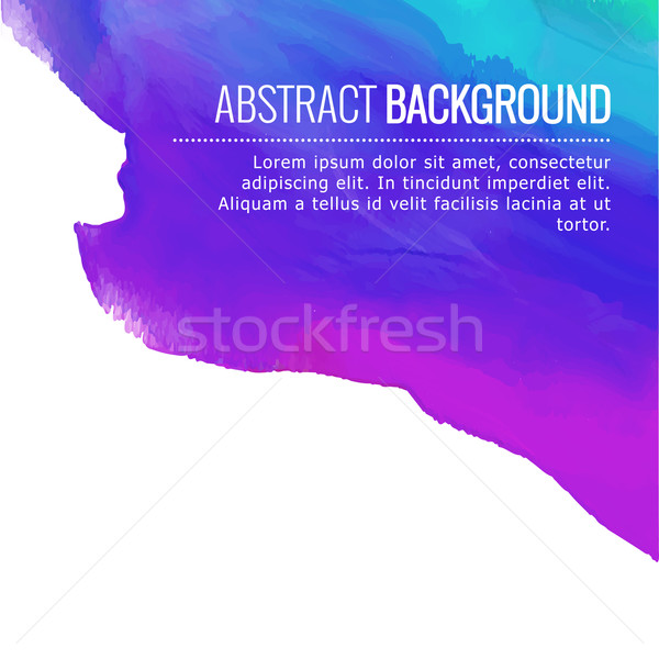 abstract colorful ink background design Stock photo © Pinnacleanimates