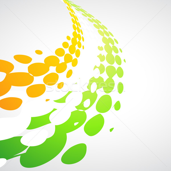 tricolor wave Stock photo © Pinnacleanimates
