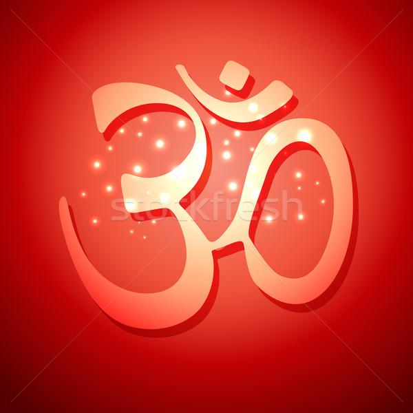 om symbol design Stock photo © Pinnacleanimates