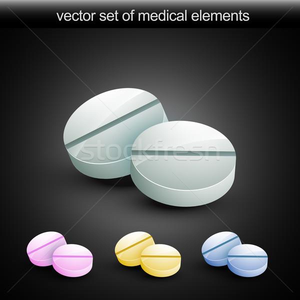 vector tablet Stock photo © Pinnacleanimates
