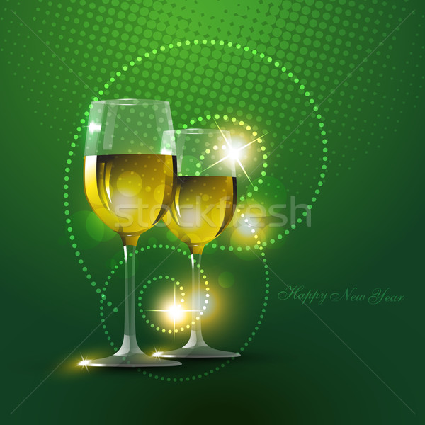 wine glass Stock photo © Pinnacleanimates
