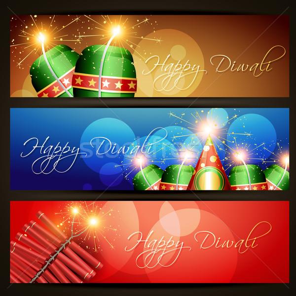 diwali festival headers Stock photo © Pinnacleanimates