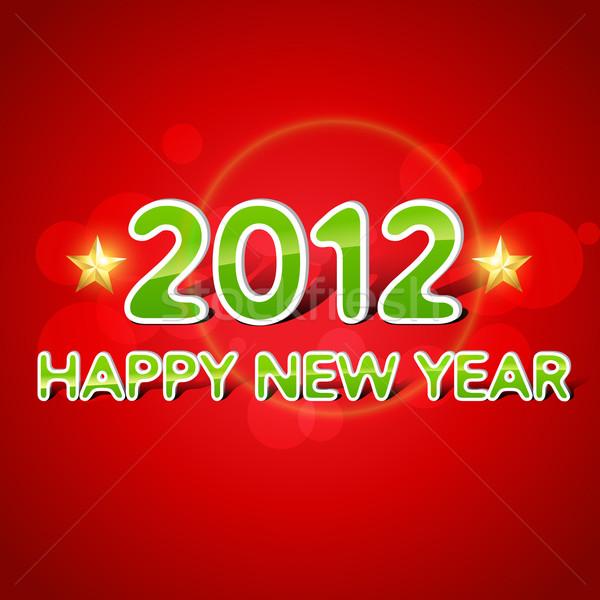 happy new year background Stock photo © Pinnacleanimates