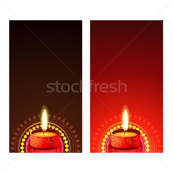 Stock photo: Diwali banner