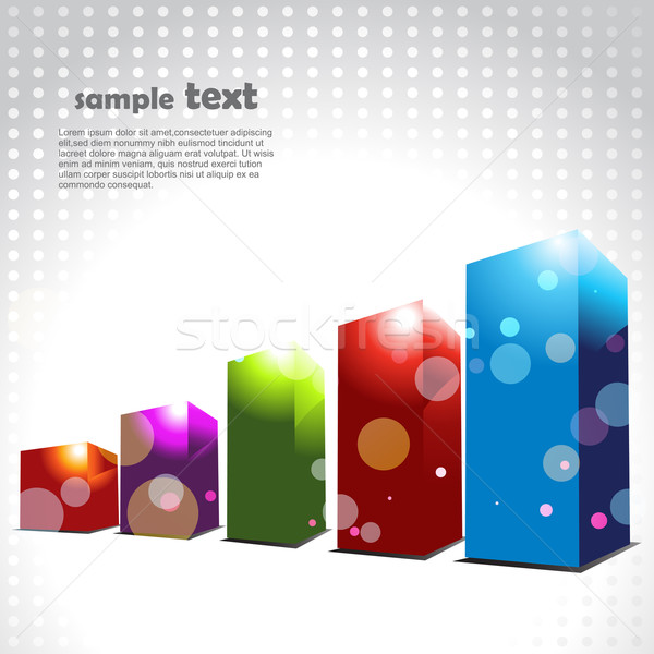 vector colorful progress bar Stock photo © Pinnacleanimates