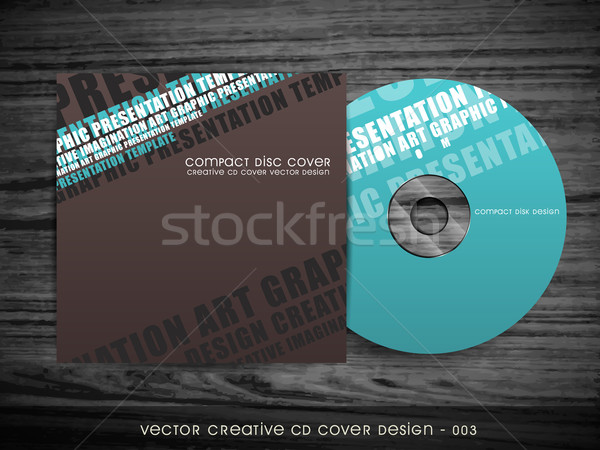 modern cd cover design Stock photo © Pinnacleanimates
