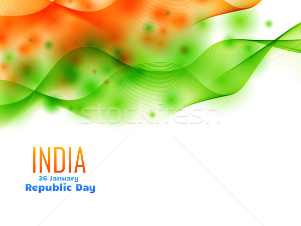 indian republic day design celebrated on 26 january made with wa Stock photo © Pinnacleanimates