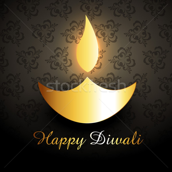 golden diwali diya Stock photo © Pinnacleanimates