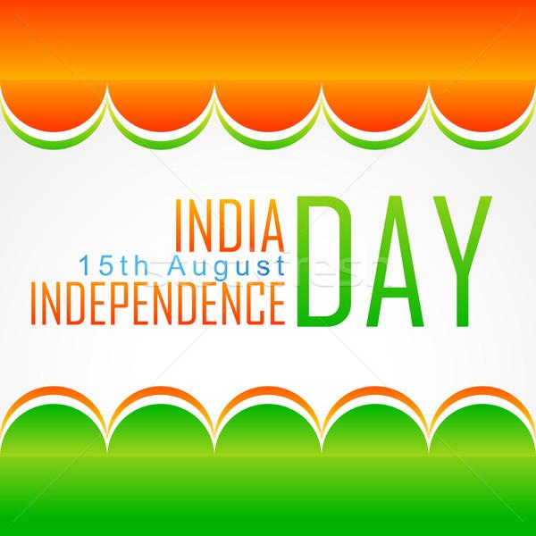vector indian flag background Stock photo © Pinnacleanimates