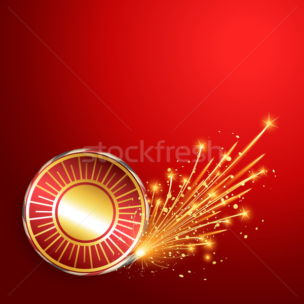 Stock photo: diwali burning crackers