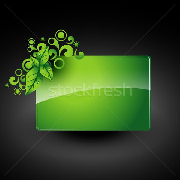 vector leaf artwork Stock photo © Pinnacleanimates