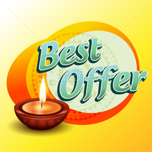 best diwali offer Stock photo © Pinnacleanimates