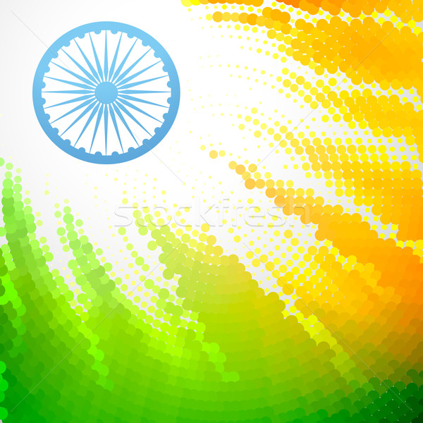 インド フラグ ベクトル 創造 デザイン 抽象的な ストックフォト © Pinnacleanimates