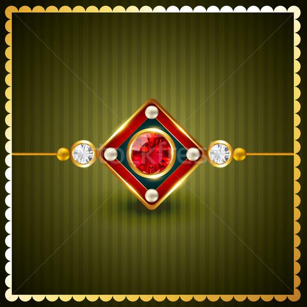 rakhi vector background Stock photo © Pinnacleanimates