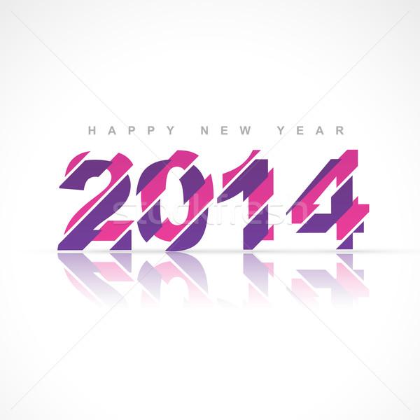 creative happy new year Stock photo © Pinnacleanimates