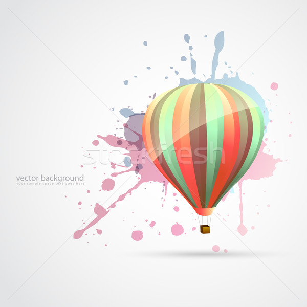 colorful parachute Stock photo © Pinnacleanimates