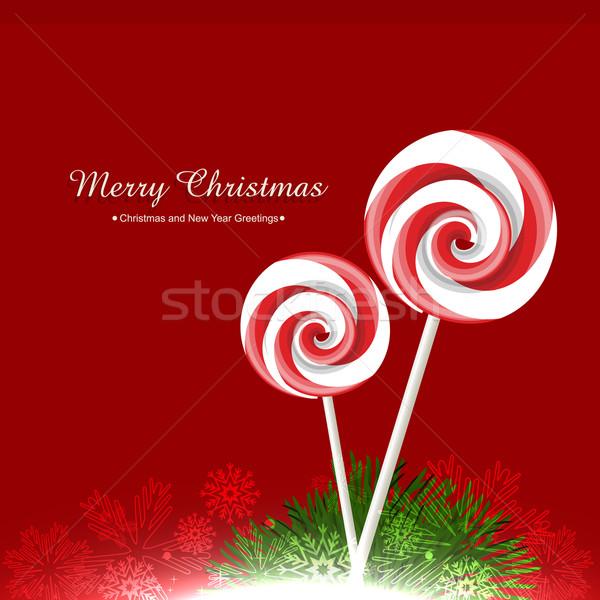 Stock photo: vector candy