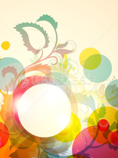 floral artwork Stock photo © Pinnacleanimates