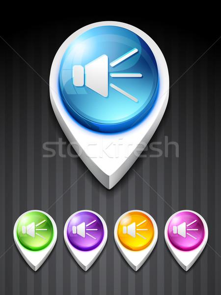 vector volume  icon Stock photo © Pinnacleanimates