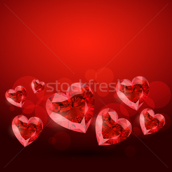 red heart Stock photo © Pinnacleanimates