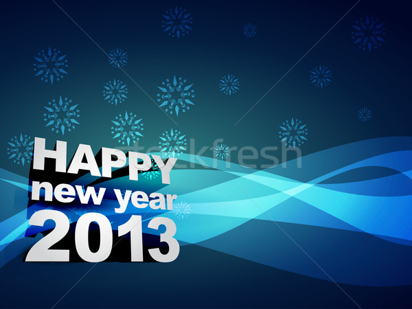 Zdjęcia stock: Szczęśliwego · nowego · roku · piękna · wektora · projektu · szczęśliwy · sztuki
