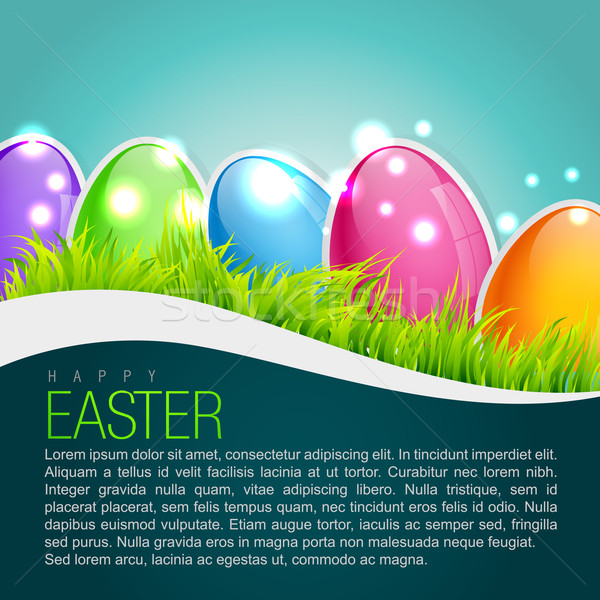 easter background design Stock photo © Pinnacleanimates