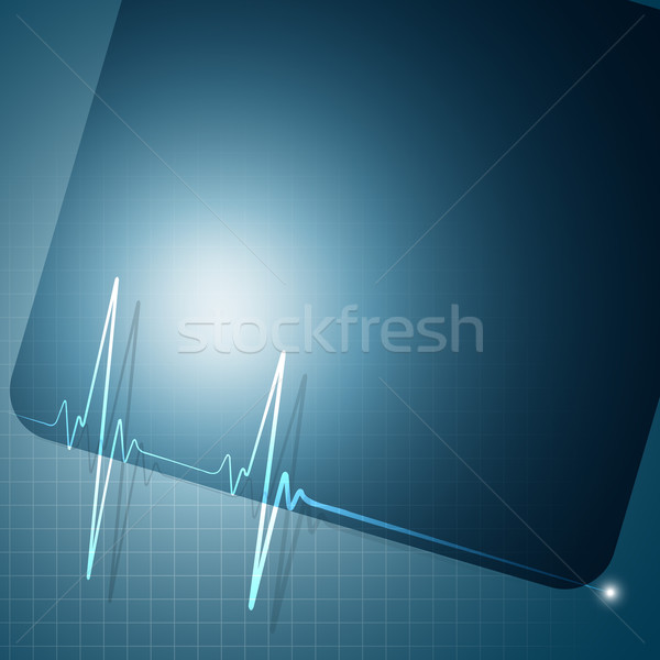 heart beat Stock photo © Pinnacleanimates