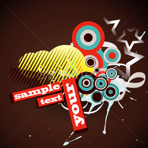 vector abstract background Stock photo © Pinnacleanimates