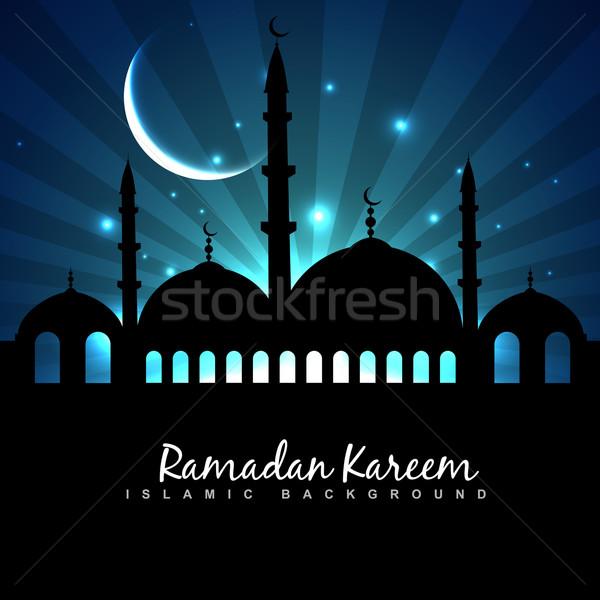 eid festival background Stock photo © Pinnacleanimates